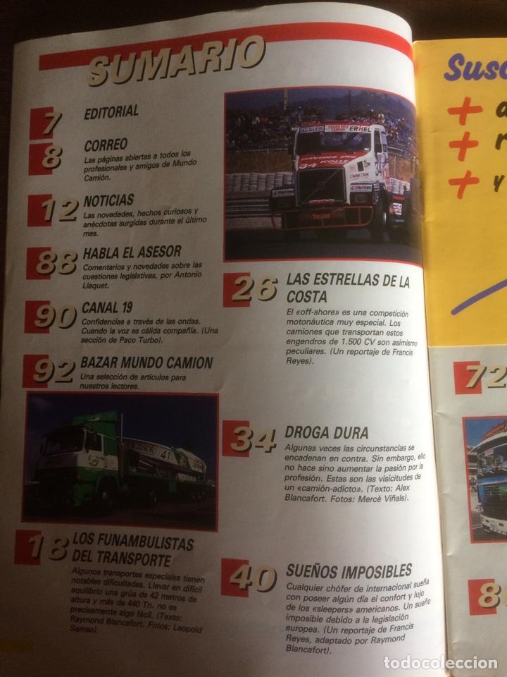 Coches: Revista mundo camión número 4 de 1989 - Foto 2 - 137299908