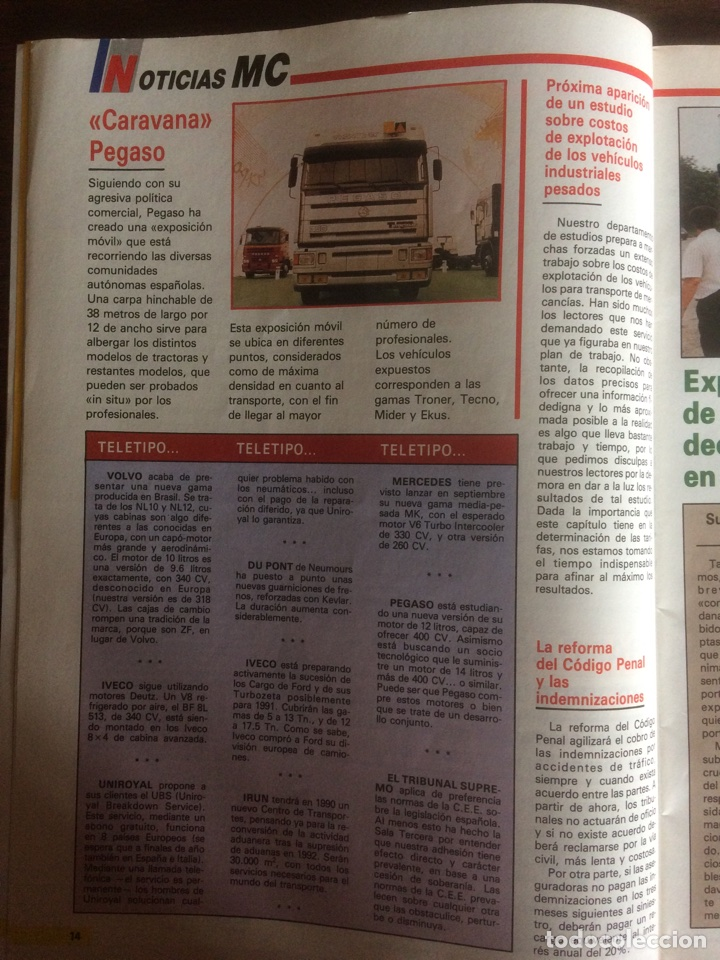 Coches: Revista mundo camión número 4 de 1989 - Foto 4 - 137299908