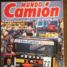 Coches: REVISTA MUNDO CAMIÓN NÚMERO 5 DE 1989 PEGASO. Lote 192240428