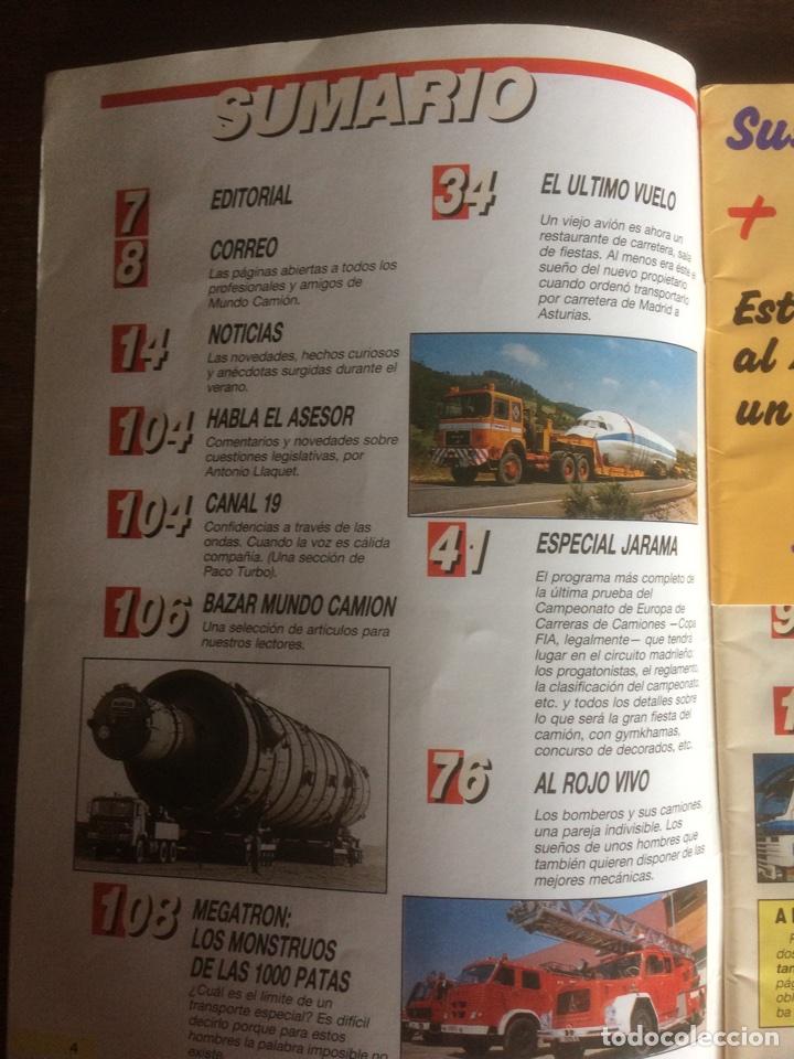 Coches: Revista Mundo camión número 6 de 1989 - Foto 2 - 118995360