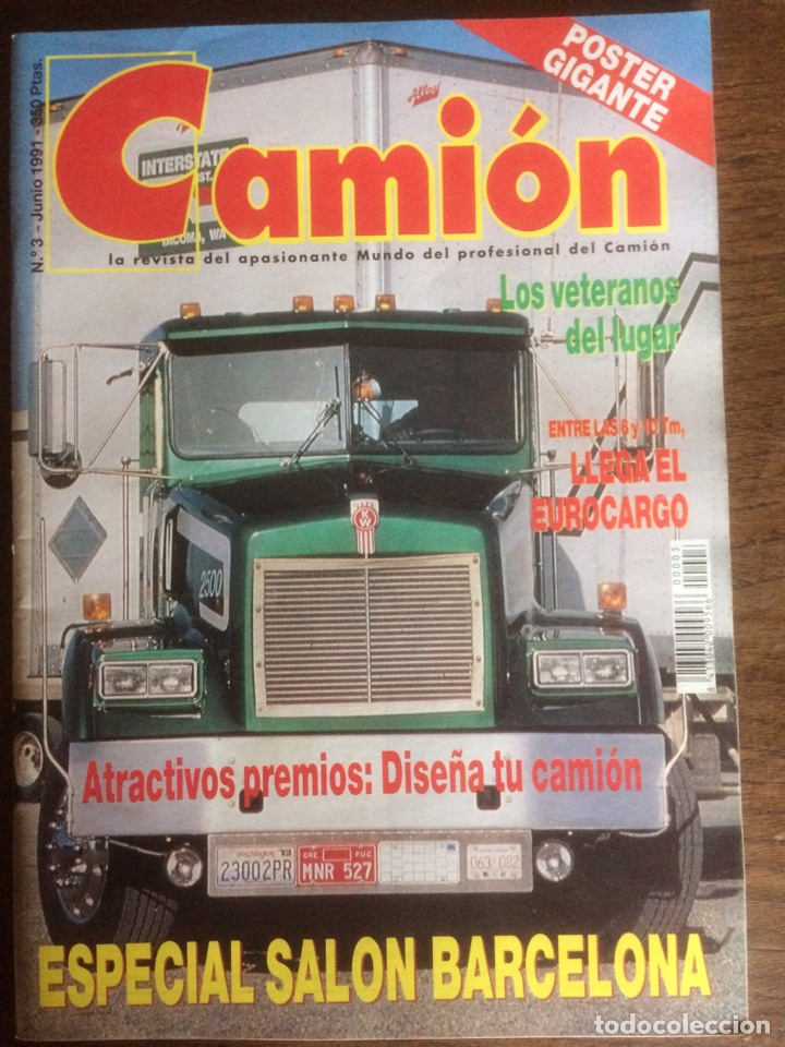 REVISTA CAMION NÚMERO 3 DE 1991 (Coches y Motocicletas Antiguas y Clásicas - Revistas de Coches)