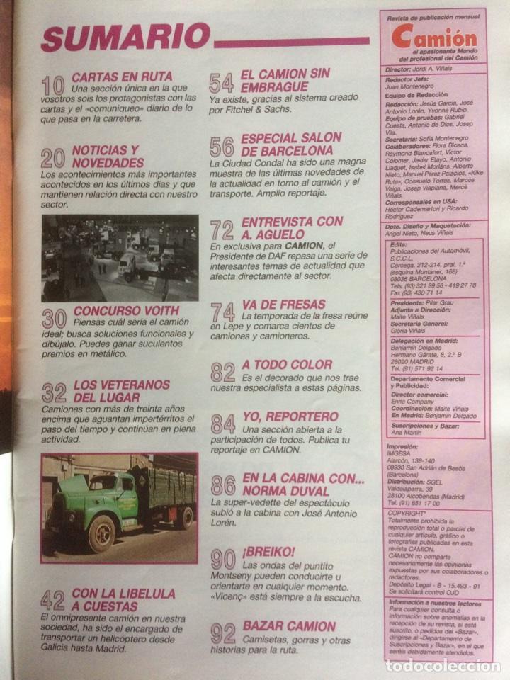 Coches: Revista camion número 3 de 1991 - Foto 2 - 127974180