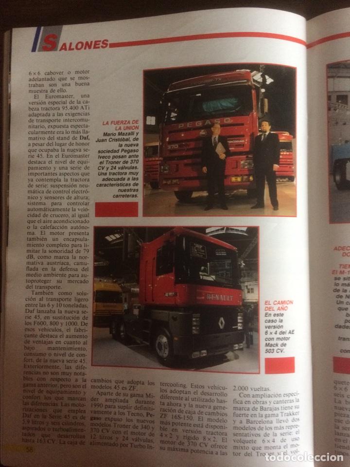 Coches: Revista camion número 3 de 1991 - Foto 3 - 127974180