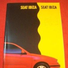 Auto: SEAT IBIZA 6K CATALOGO COMERCIAL PUBLICITARIO BROCHURE REVISTA USUARIO CONCESIONARIO PUBLICIDAD. Lote 119049647