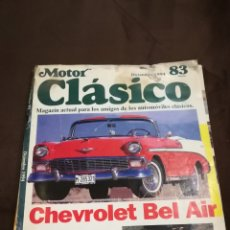 Coches: MOTOR CLÁSICO N 83. Lote 119266986