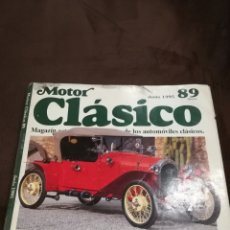 Coches: MOTOR CLÁSICO 89. Lote 119269468