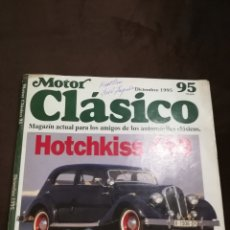 Coches: MOTOR CLÁSICO 95. Lote 119269694
