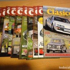 Coches: REVISTA MOTOR CLASICO. AÑO 2005 CASI COMPLETO. 11 NUMEROS. Lote 120350007