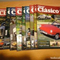 Coches: REVISTA MOTOR CLASICO. AÑO 2006. 6 NUMEROS. Lote 120350179