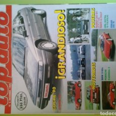 Coches: TOP AUTO N 2 1989 CITROEN XM BMW 3 18IS PORSCHE CARRERA 2 PEUGEOT 205 GTI. Lote 120538226