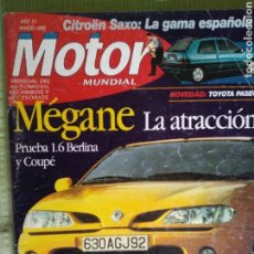 Coches: MOTOR MUNDIAL MARZO 1996. Lote 121311786