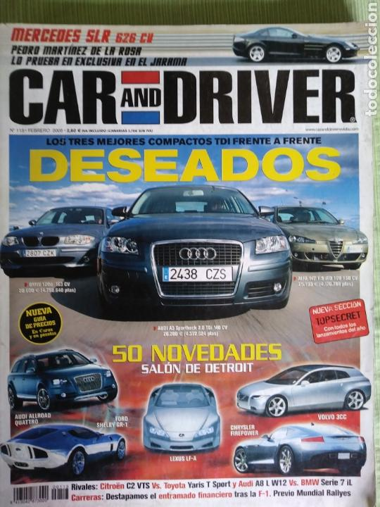 CAR AND DRIVER 113 FEBRERO 2005 (Coches y Motocicletas Antiguas y Clásicas - Revistas de Coches)