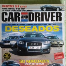 Coches: CAR AND DRIVER 113 FEBRERO 2005. Lote 121312468