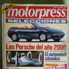 Coches: MOTORPRESS 13 MAYO 1991. Lote 121322442