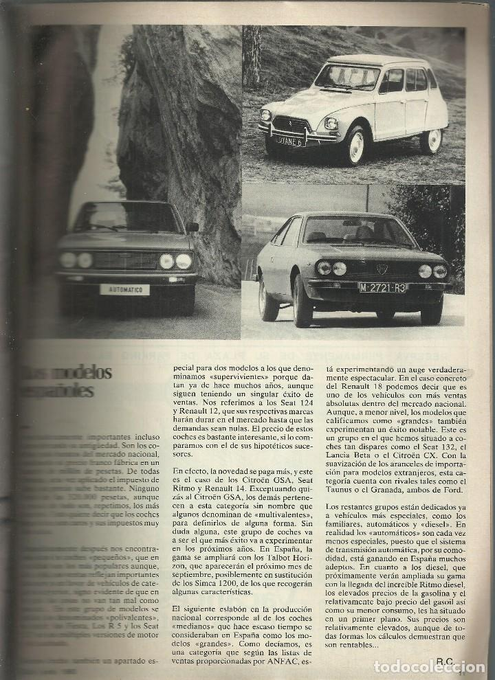 Coches: REVISTA CLUB, Nº 193,JUNIO 1980. RACC, REAL AUTOMOVIL CLUB DE CATALUNYA. CARRERA EN CUESTA MONTSENY - Foto 3 - 121520479