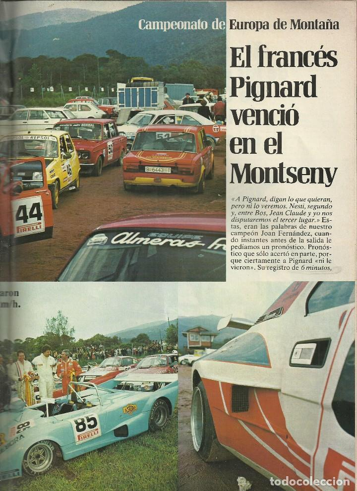Coches: REVISTA CLUB, Nº 193,JUNIO 1980. RACC, REAL AUTOMOVIL CLUB DE CATALUNYA. CARRERA EN CUESTA MONTSENY - Foto 4 - 121520479