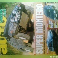 Coches: AUTO VERDE 4X4 NÚMERO 197 AGOSTO 2005 AUTOVERDE SUPER MONTERO SUZUKI GRAND VITARQ Y JEEP GRAND CHERO. Lote 121549562