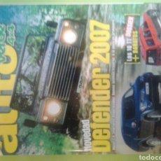 Coches: AUTO VERDE 4X4 NÚMERO 211 OCTUBRE 2006 AUTOVERDE DEFENDER 2007. Lote 121550462