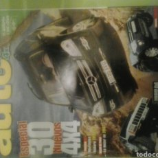 Coches: AUTO VERDE 4X4 NÚMERO 212 NOVIEMBRE 2006 AUTOVERDE ESPECIAL 30 NUEVOS 4X4 MERCEDES GL SUBARU TRIBECA. Lote 121558904