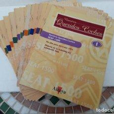 Coches: NUESTROS QUERIDOS COCHES-36 FASCICULOS-2003-DEL 1 AL 37-FALTA EL32. Lote 121797855