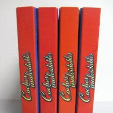 Coches: COCHES INOLVIDABLES. SALVAT. 4 ARCHIVADORES CON MÁS DE 60 IMPRESIONANTES FASCICULOS. . Lote 122129379