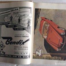 Coches: CATÁLOGO GENERAL DE AUTOMÓVILES DEL AÑO 1958,EDITORIAL ROMERO REQUEJO S.L. MADRID . Lote 122229723