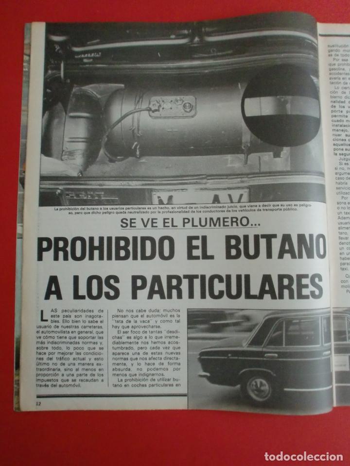 Coches: VELOCIDAD Nº 935 PRUEBA RENAULT 14 TS - MADRID TORREMOLINOS CON UN CITROËN GS - 1.000.000 DE LADA - Foto 3 - 122246555