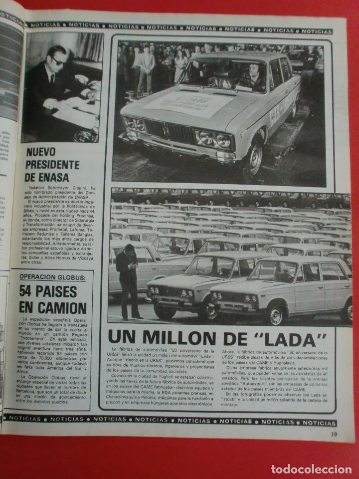 Coches: VELOCIDAD Nº 935 PRUEBA RENAULT 14 TS - MADRID TORREMOLINOS CON UN CITROËN GS - 1.000.000 DE LADA - Foto 6 - 122246555