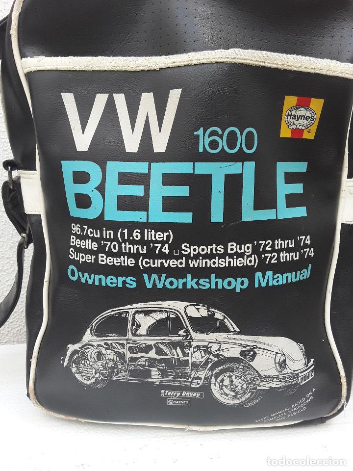 VW BEEETLE 1600 HAYNES-BONITO BOLSO BANDOLERA-36X27X8,5CM -PARA TU ESCARABAJO-VOCHO-VINTAGE (Coches y Motocicletas Antiguas y Clásicas - Revistas de Coches)