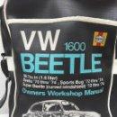Coches: VW BEEETLE 1600 HAYNES-BONITO BOLSO BANDOLERA-36X27X8,5CM -PARA TU ESCARABAJO-VOCHO-VINTAGE. Lote 123420715