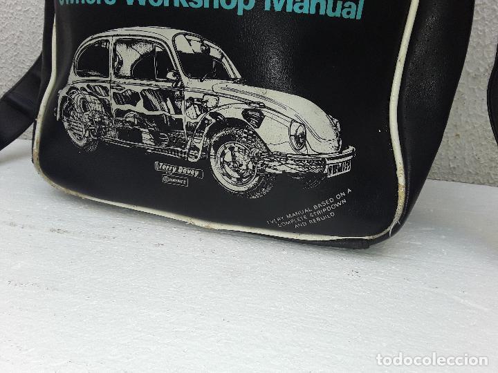 Coches: VW BEEETLE 1600 HAYNES-BONITO BOLSO BANDOLERA-36x27x8,5cm -PARA TU ESCARABAJO-VOCHO-VINTAGE - Foto 12 - 123420715