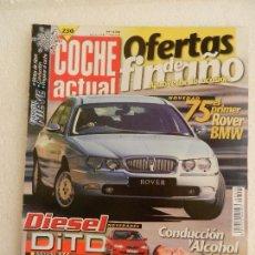 Coches: COCHE ACTUAL Nº 558 DICIEMBRE AÑO 1998.. Lote 123818995