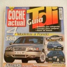 Coches: COCHE ACTUAL Nº 556 DICIEMBRE AÑO 1998.. Lote 123819559