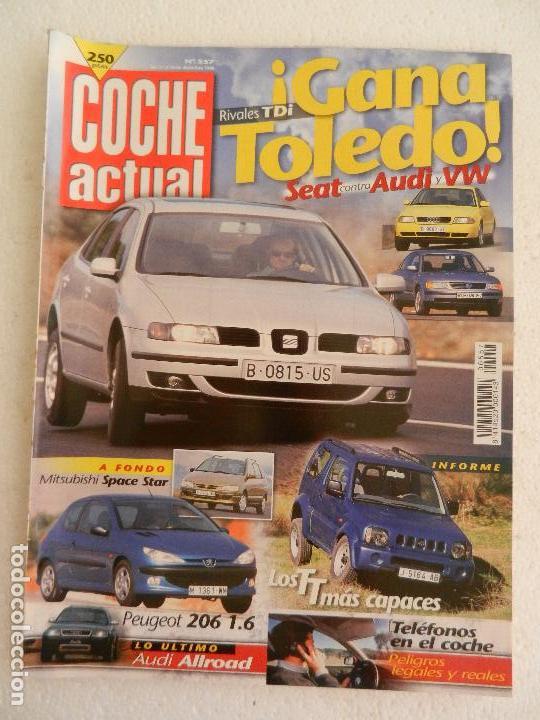 COCHE ACTUAL Nº 557 DICIEMBRE AÑO 1998. (Coches y Motocicletas Antiguas y Clásicas - Revistas de Coches)