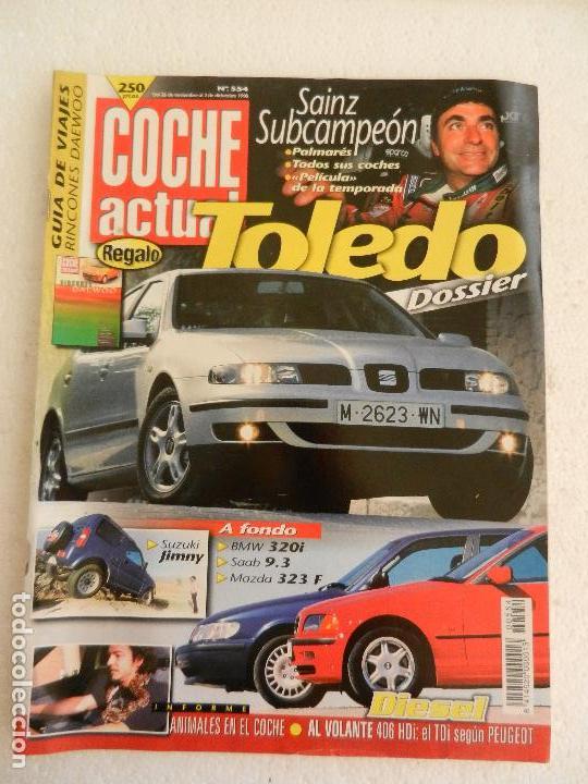 COCHE ACTUAL Nº 554 DICIEMBRE AÑO 1998. (Coches y Motocicletas Antiguas y Clásicas - Revistas de Coches)