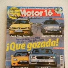 Coches: MOTOR 16 Nº 874 JULIO AÑO 2000.. Lote 123874847