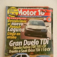 Coches: MOTOR 16 Nº 875 JULIO AÑO 2000.. Lote 123875059