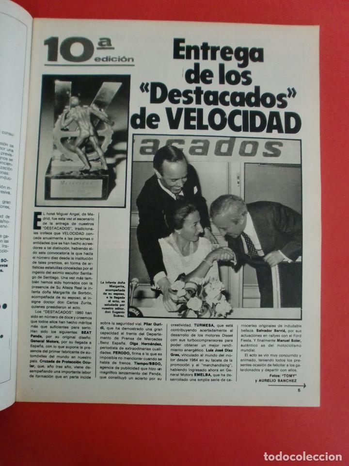 Coches: VELOCIDAD Nº 1034 RENAULT E.V.E. - B M W SERIE 5 - CITROËN VISA II ESPAÑOL - RALLYE ORENSE - NIETO - Foto 2 - 124208575