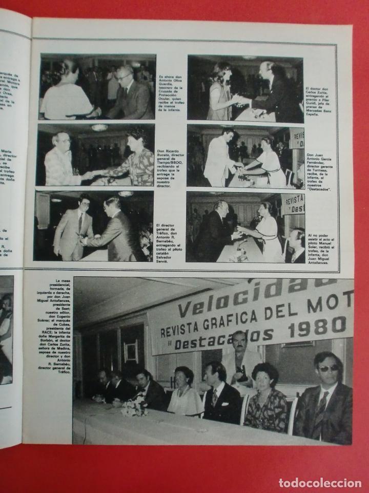 Coches: VELOCIDAD Nº 1034 RENAULT E.V.E. - B M W SERIE 5 - CITROËN VISA II ESPAÑOL - RALLYE ORENSE - NIETO - Foto 4 - 124208575