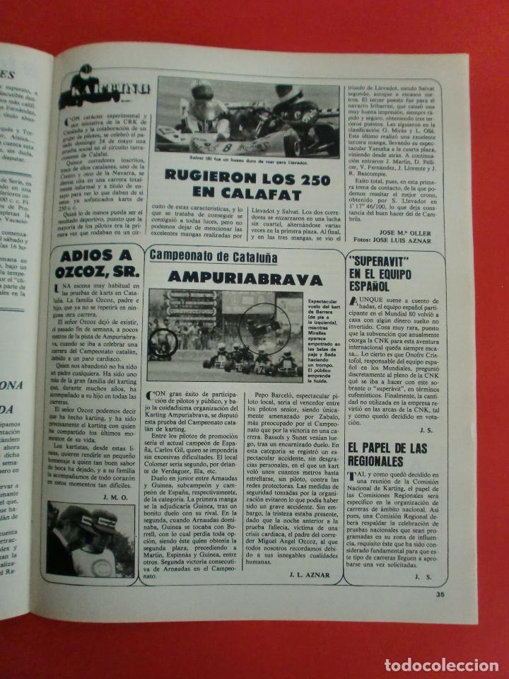 Coches: VELOCIDAD Nº 1034 RENAULT E.V.E. - B M W SERIE 5 - CITROËN VISA II ESPAÑOL - RALLYE ORENSE - NIETO - Foto 18 - 124208575