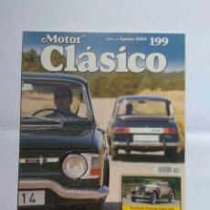 Coches: REVISTA MOTOR CLASICO Nº 199 RENAULT 10 PONTIAC FIERO TOYOTA MR2 DODGE 3700 AMI 6. Lote 124278243