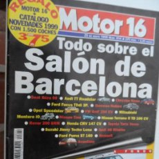 Coches: MOTOR 16 Nº 814 MAYO 1999.. Lote 124561743