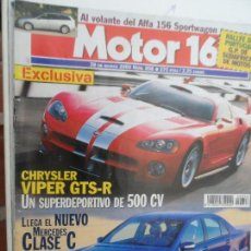 Coches: MOTOR 16 Nº 858 MARZO 2000. Lote 124566859