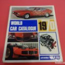 Coches: WORLD CAR CATALOGUE 1970. AUTOMOBILE CLUB OF ITALY. MUY RARO. IMPRESCINDIBLE.. Lote 125071539