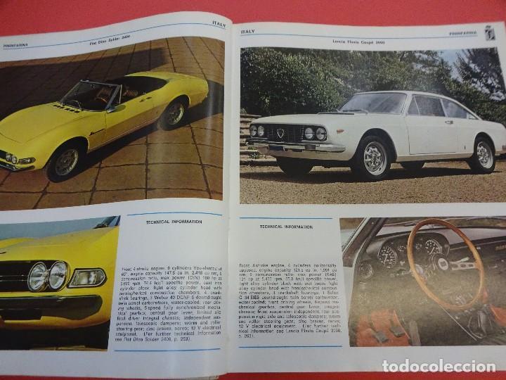Coches: WORLD CAR CATALOGUE 1970. Automobile club of Italy. Muy raro. Imprescindible. - Foto 3 - 125071539