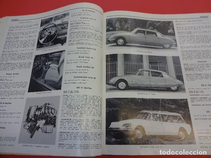 Coches: WORLD CAR CATALOGUE 1970. Automobile club of Italy. Muy raro. Imprescindible. - Foto 4 - 125071539
