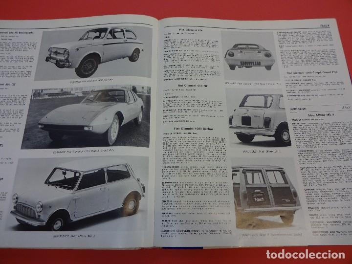 Coches: WORLD CAR CATALOGUE 1970. Automobile club of Italy. Muy raro. Imprescindible. - Foto 5 - 125071539