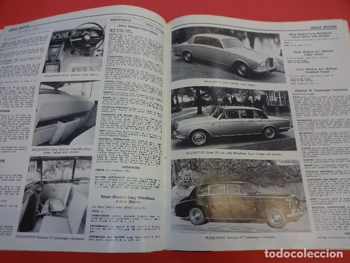 Coches: WORLD CAR CATALOGUE 1970. Automobile club of Italy. Muy raro. Imprescindible. - Foto 7 - 125071539