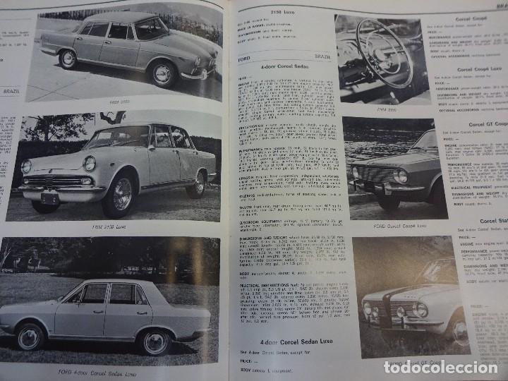 Coches: WORLD CAR CATALOGUE 1970. Automobile club of Italy. Muy raro. Imprescindible. - Foto 8 - 125071539