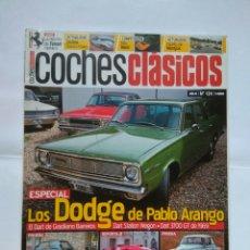 Coches: REVISTA COCHES CLASICOS Nº 124 DODGE DART STATION WAGON GRACILIANO BARREIROS FERRARI 166 PORSCHE 912. Lote 125342914